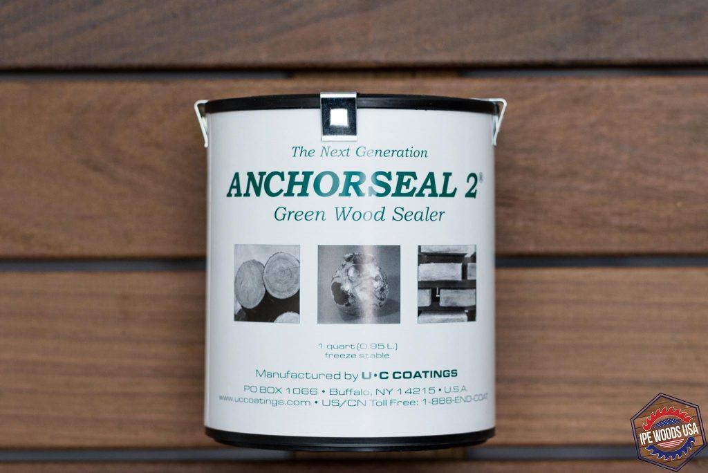 Anchorseal 2 End Grain Sealer 1 Quart Ipe Woods Usa