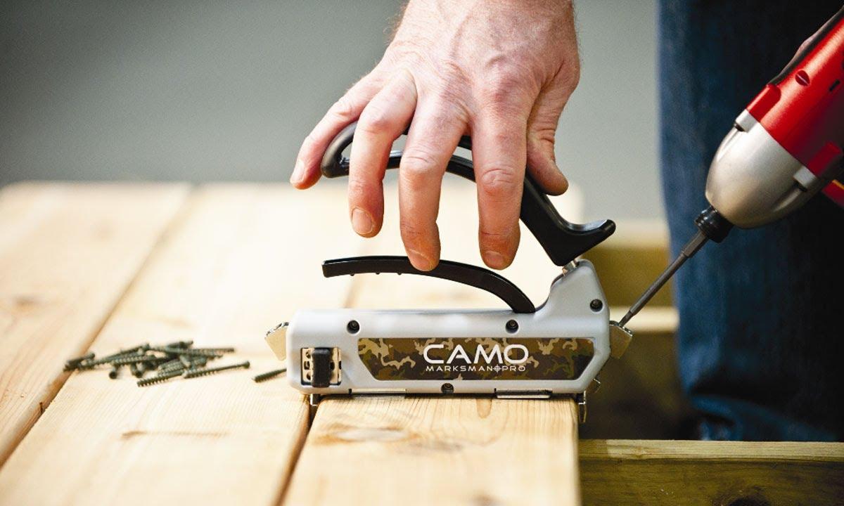 Camo 174 Marksman Pro Tool Camo 174 Edge Deck Fastening System