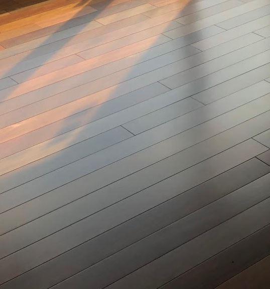 "Solid Brazilian Walnut Hardwood Flooring: Solid 5"" Ipe (Brazilian Walnut) Flooring"
