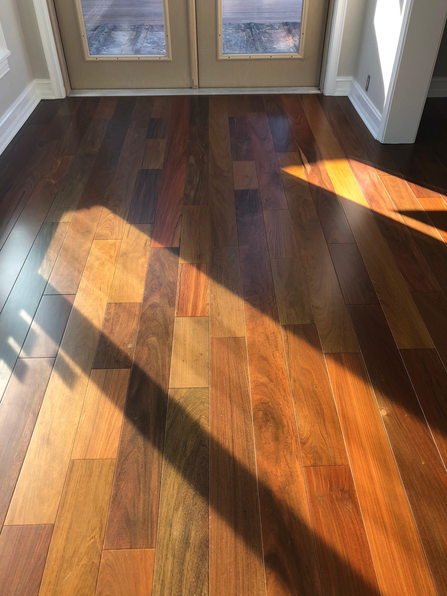5 Ipe Brazilian Walnut Flooring Prefinished Ipe