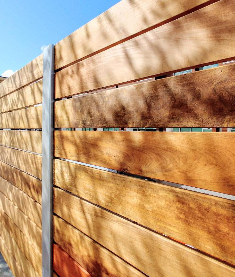 Ipe Fencing Ipe Fence Boards Natural Wood Fence Ipe