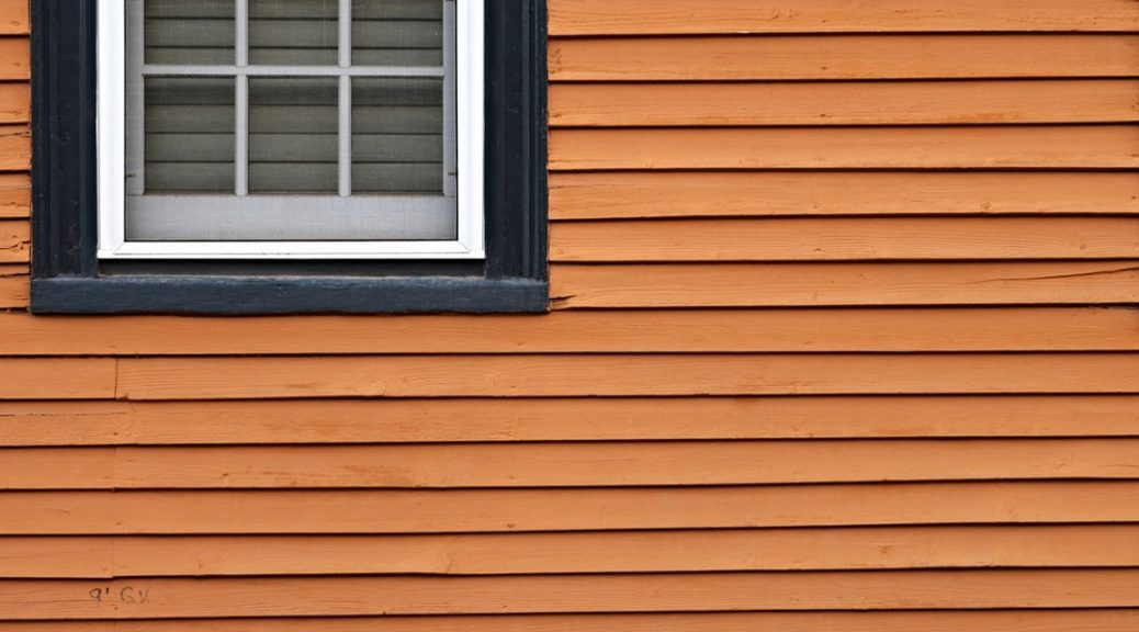 types of wood siding